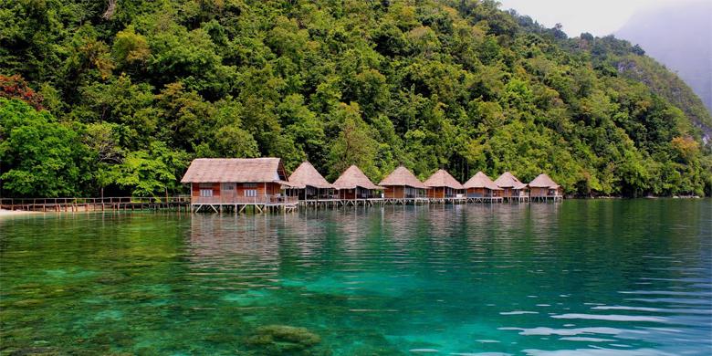 3D Open Trip Ambon Saleman Resort