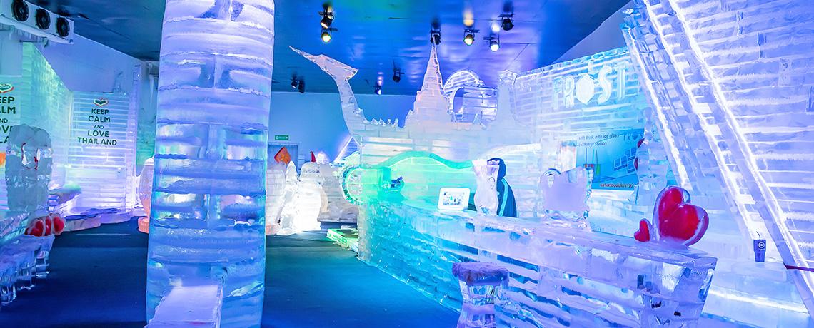 4D Explore Bangkok Pattaya + Frost Magical Ice Of Siam dan Wat Arun