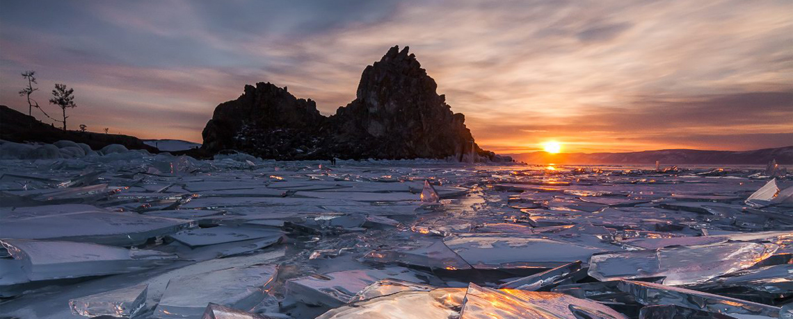 9D Favorite Winter Russia Siberia + Ice Safari Of Lake Baikal
