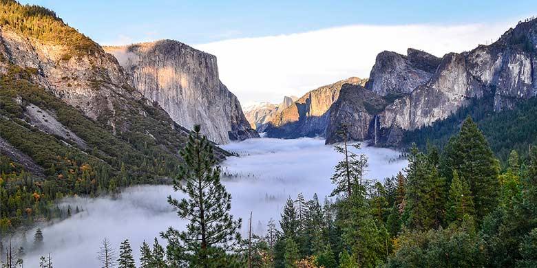 6D Lihat West Coast + Yosemite