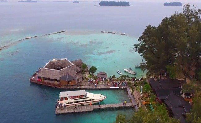 Paket Tour Murah Pulau Pelangi