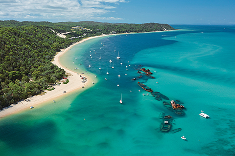 1 Day Moreton Island Tour from Brisbane