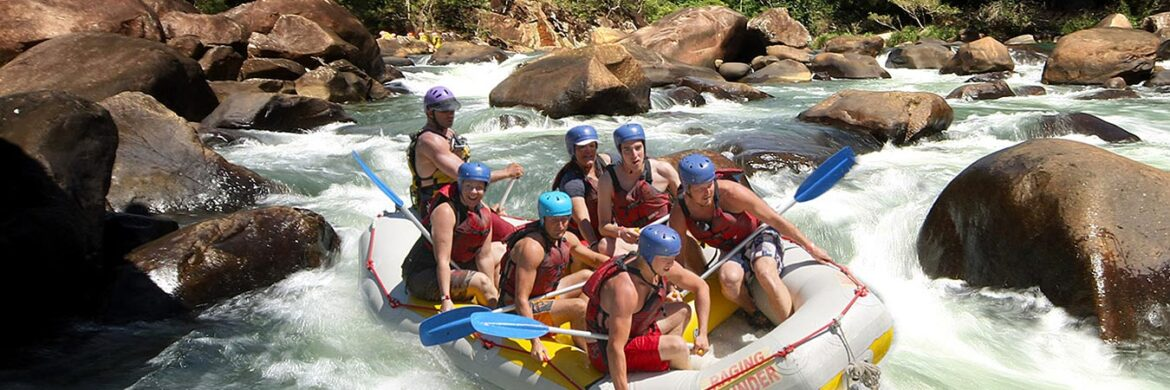 1 Day Tully White Water Rafting from Cairns
