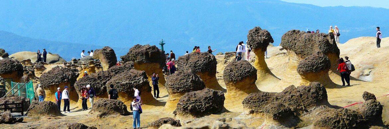 3D/2N Favourite Taipei Yehliu Geopark and Jiufen Tour