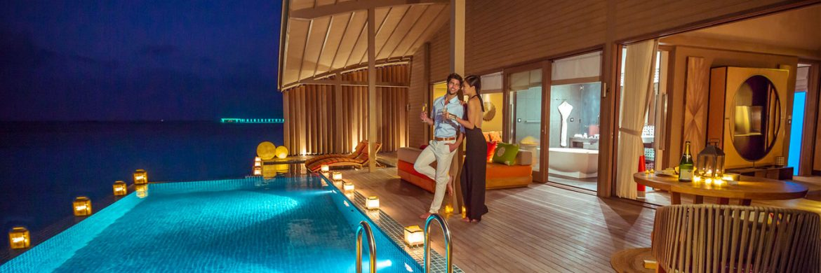 4D/3N Experience Combination All Inclusive Package at Club Med Manta  Finolhu Maldives