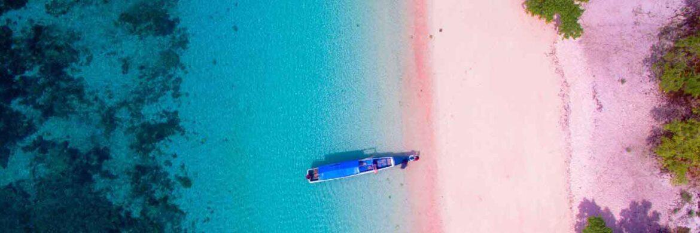 4D/3N Favourite Lombok Three Gilies Adventure  Pink Beach Tour