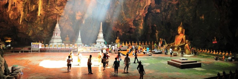 4D/3N Favourite Amazing Bangkok  Hua Hin with Tum Khao Luang Cave  Santorini Water Park