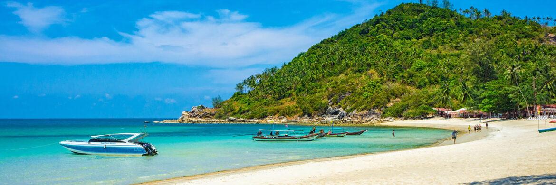 Around Koh Pha Ngan by Speed Boat