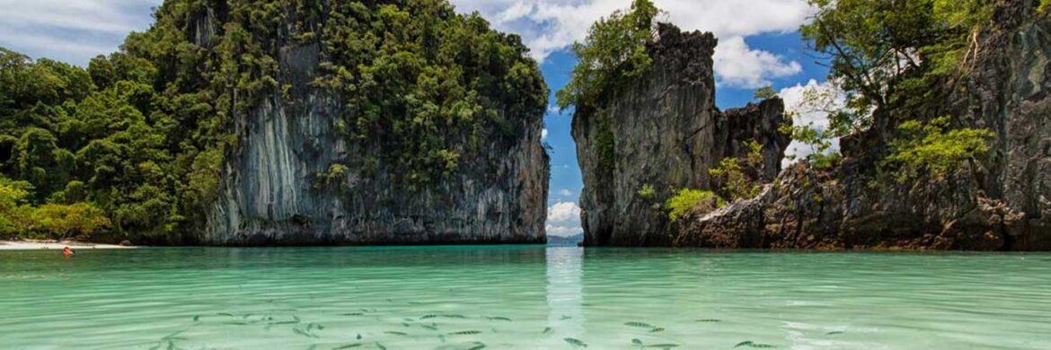 Full Day Koh Hong Kayaking Tour by Long Tail Boat