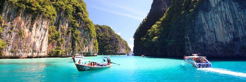 Full Day Phi Phi, Maya Bamboo Island by Speed Boat