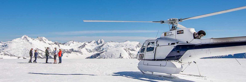 Glacier Landing Mt Aspiring National Park