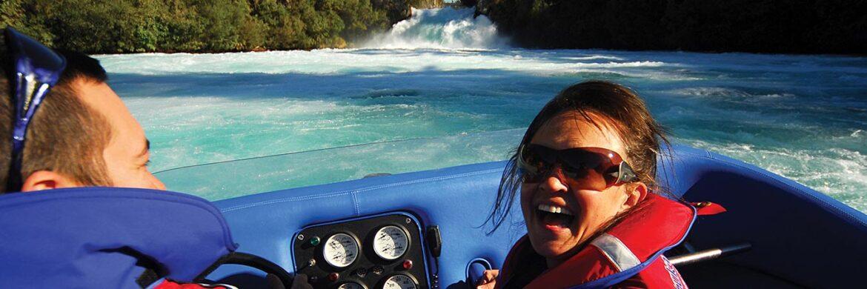Hukafalls Jet Boat Ride