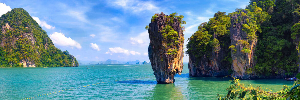 Full Day Phang Nga Tour (James Bond Island) By long tail boat