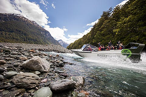 Wanaka Jet Boat / Glacier Jet / Glacier River Safari Tour