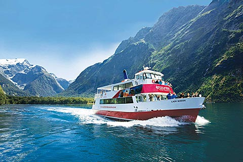 Discover Milford Sound Nature Cruise/Discover More/Underwater Observatory/Kayak