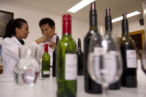 Penfolds Make Your Own Blend Experience