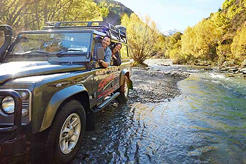 Queenstown Experience Lord of the Rings Film Location/Gold Heritage/Quad Safari