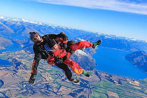 Tandem Skydive Wanaka