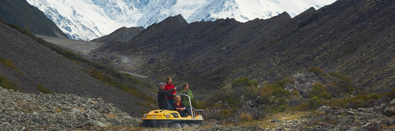 Tasman Valley 4WD Dan Argo Tour