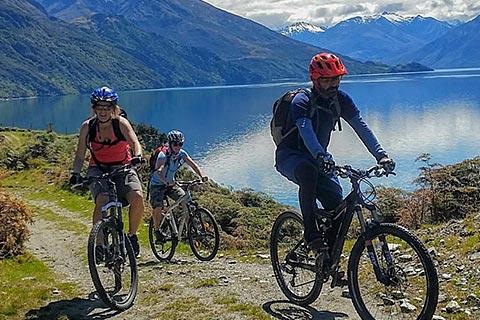 West Wanaka Bike Tours River Ramble/Clutha River Ride/Boat Bike Combo