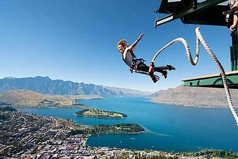 Adventure Activities Queenstown – Skydive/Jetboat/Zipride/Bungy Jump/Swings/Rafting