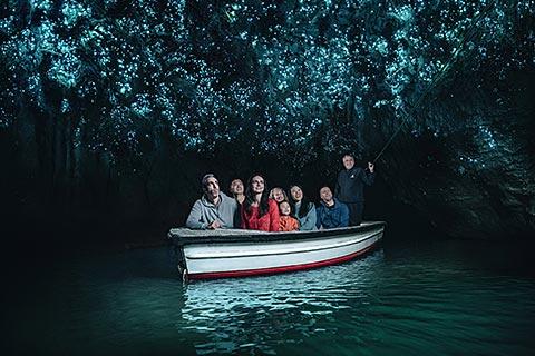 Waitomo Activities – Glowworm Caves/Ruakuri Cave/Black Labyrinth/Black Abyss/Black Odyssey