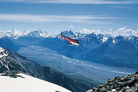 Helicopter Tour Mount Cook – Alpine Vista/Tasman Glacier Heli Hike/Mountain High