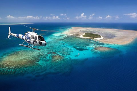 30 min Reef Scenic Flight from Cairns