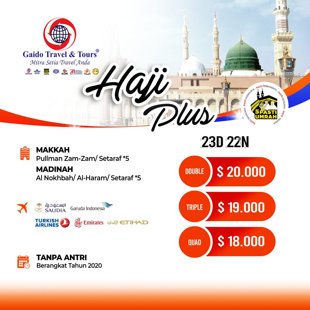 Travel Haji Plus Murah