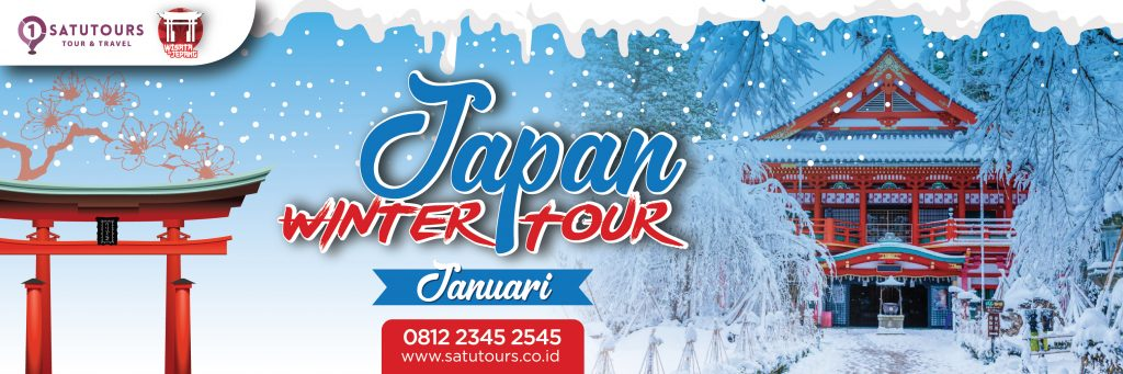 Tour Jepang Murah Januari 2020