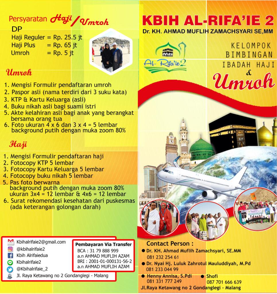 Contoh Brosur Umroh Dan Haji   Paket Tour Murah   Bayar Cash atau ...
