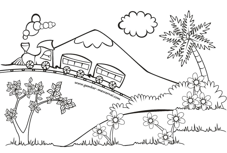 Kereta Api Untuk Mewarnai Paket Tour Murah Bayar Cash Atau Cicilan Bersamawisata